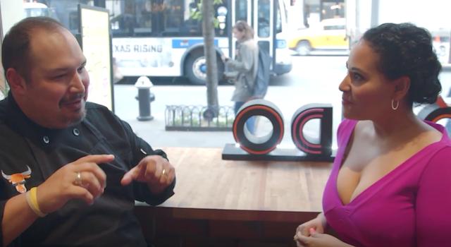 Alejandra Ramos interviews Chef Jesse Perez