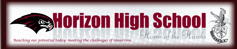 Horizon High School Newsletter