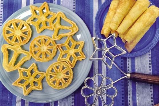 Fattigmans Bakkelser Norwegian Fried Cookies) Recipe - Food.com