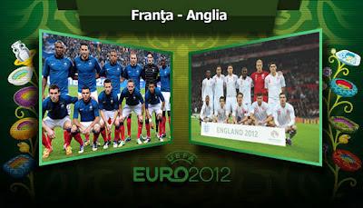 FRANTA ANGLIA EURO 2012 11 iunie live online Dolce Sport tv1 pe internet Campioantul european de fotbal
