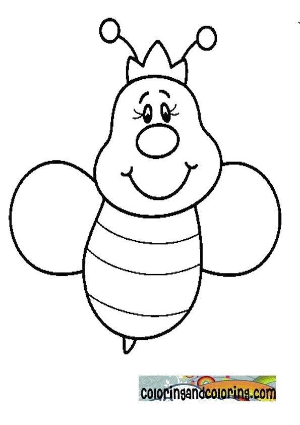 Queen Bee Template