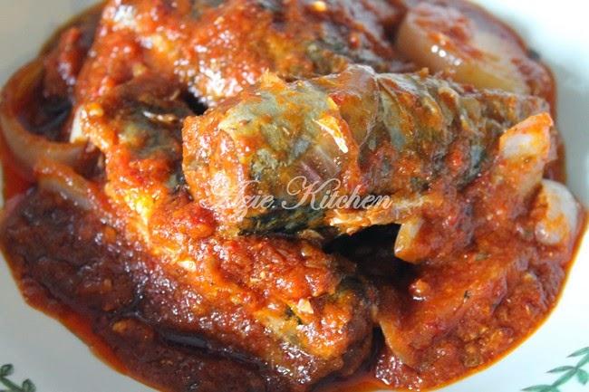 Sambal Tumis Ikan Sardin Mackerel Azie Kitchen