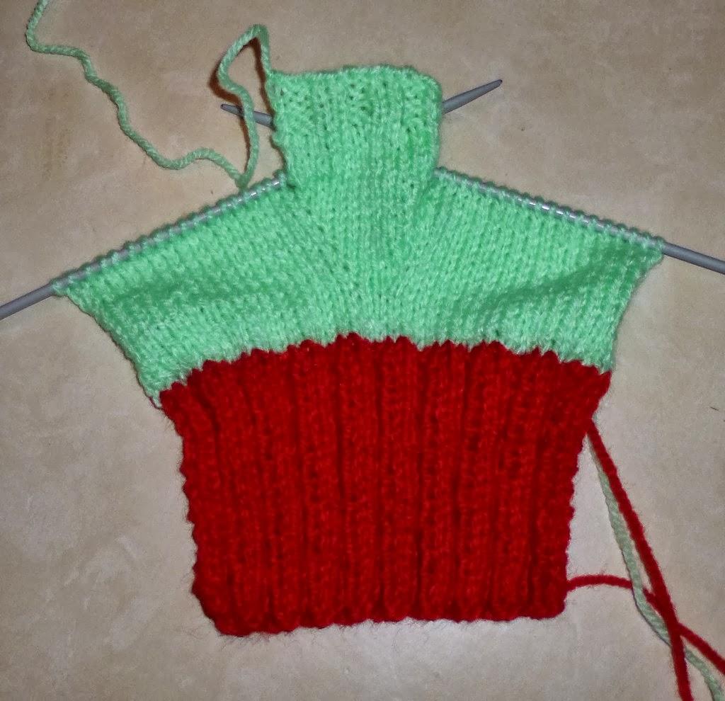 Je m 39 clate avec mes 10 doigts des mitaines pour cet hiver - Faire une augmentation en tricot ...