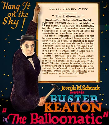 Buster Keaton – The Balloonatic (1923)