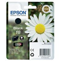 Cartucho Epson T1801 tinta negro