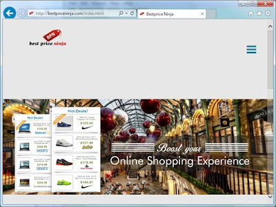 BestpriceNinja.com screenshot
