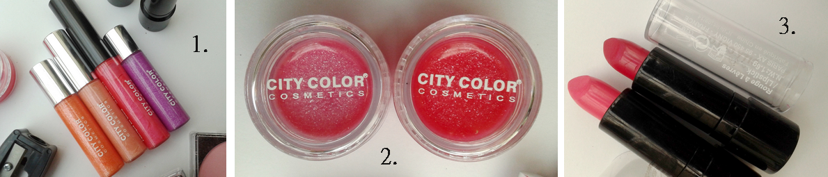 City Color gloss rouge à lèvres beauté