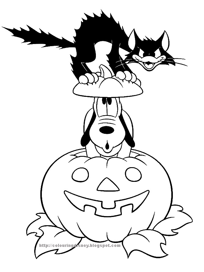 disney coloring pages halloween - photo#22