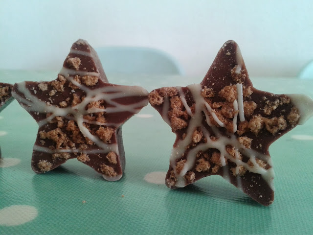 Tesco Gingerbread Chocolate Stars