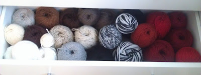 Niccupp Crochet's Neutral Yarn Drawer