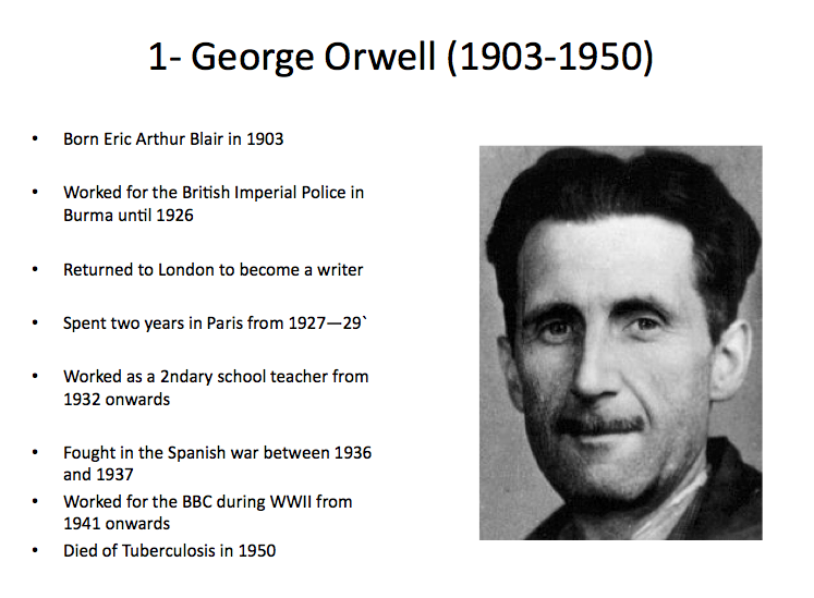 84: The masterpiece that killed George Orwell
