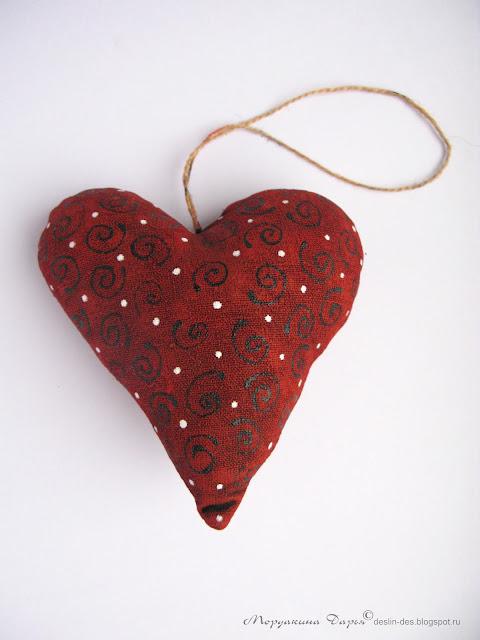 текстильное сердце