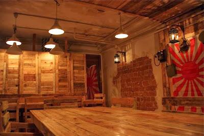 Mobiliario y decoración de Japan Búnker. Blog Esteban Capdevila