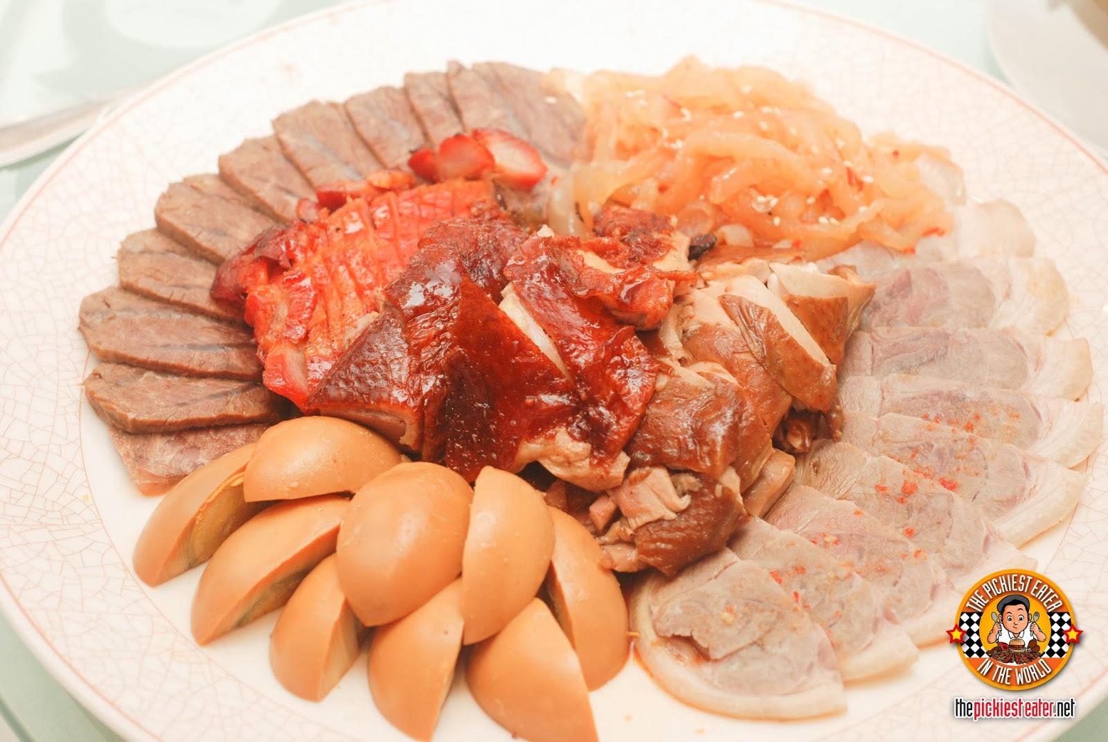 Yee Sang Shang Palace Makati Shang suckling pig platter