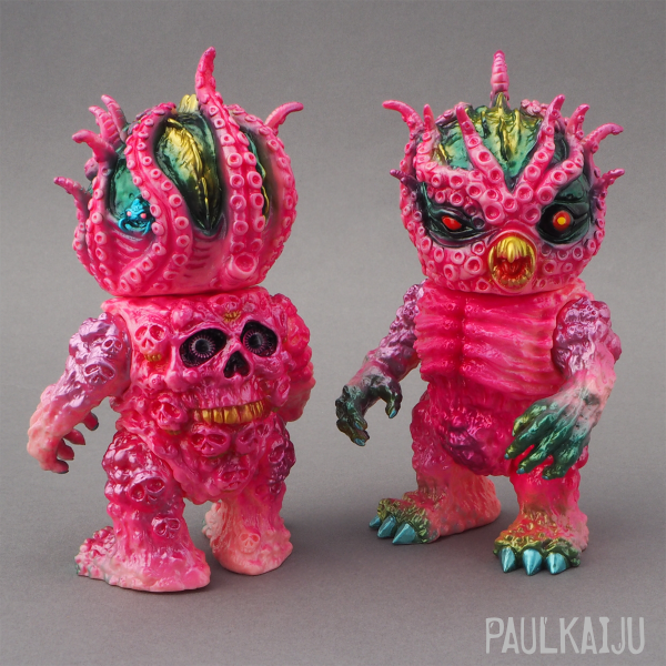 The Sludge Kraken Vinyl Figure by Paul Kaiju x Mutant Vinyl Hardcore