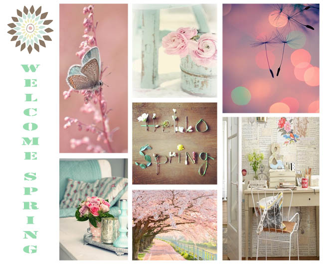 Inspiracion Primavera pastel colores