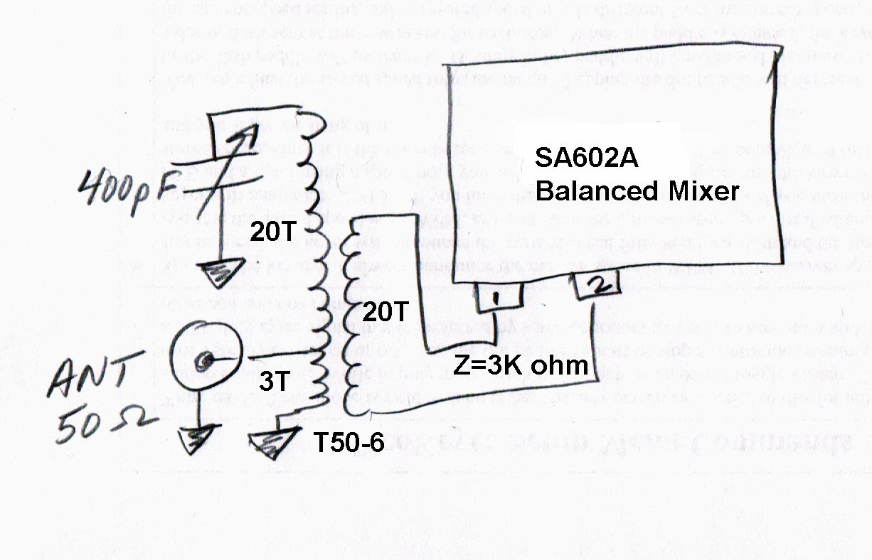 Kr7ws Ham Radio Blog High Gain Listening Circuit Spy Schematic Amplifier 386 Im Not Sure That The Z Match Between Preselector And Sa602a Mixer Is Best It Can Be Further Experimentation Needed
