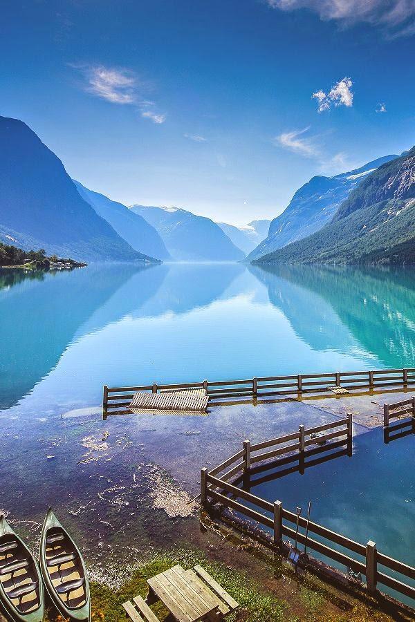 Lake Lovatnet - Stryn - Norway