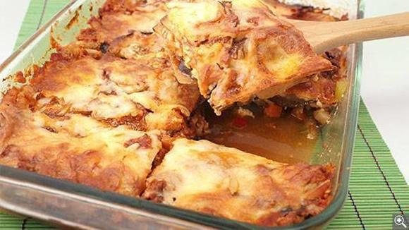 Lasagne Sans Pâtes A L'aubergine