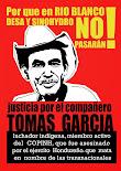 Gerechtigkeit für Tomas Garcia