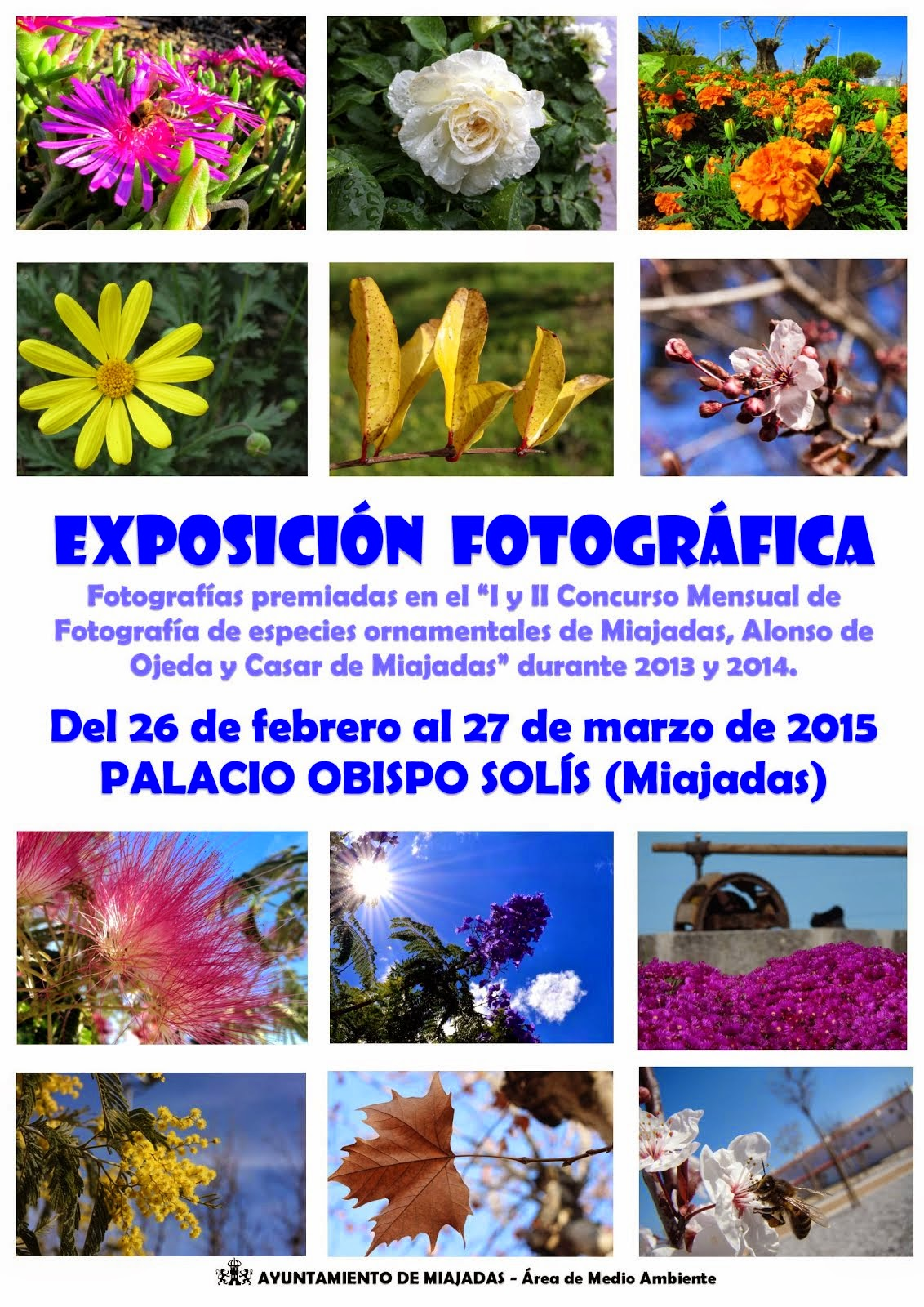 Exposición Fotografía Medio Ambiente (Hasta el 27 de Marzo)