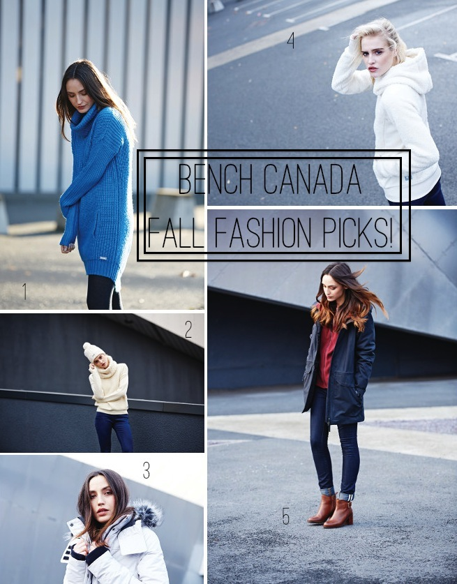 Weekend shop: Bench Canada Fall 2015 top picks