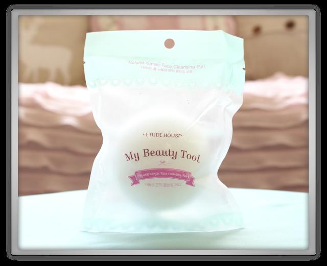 BeautynetKorea beautynet korea Secret Key Etude House Haul Review Natural Konjac Face Cleansing Puff