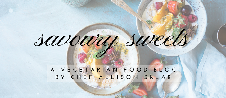 Savoury Sweets Blog