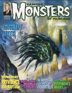 Famous Monsters of Filmland #255, 2011, copertina