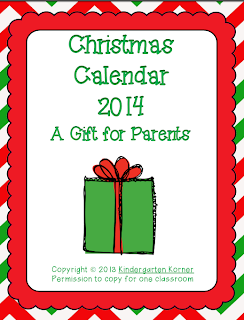http://www.teacherspayteachers.com/Product/A-Christmas-Gift-for-Parents-422498