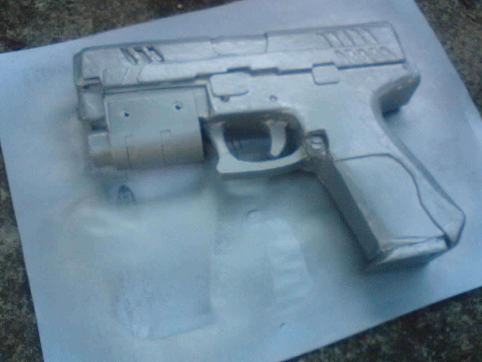 Pistola Blacktail - Resident Evil DSC04491