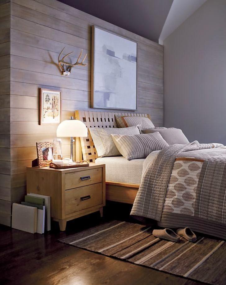 Habitaciones de estilo r stico moderno ideas para decorar dormitorios - Muebles rusticos modernos ...