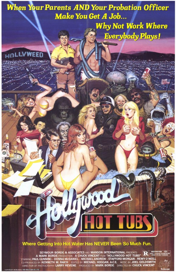 Dick Swifts House of Bad Cinema and Wafflles: Hollywood Hot Tubs