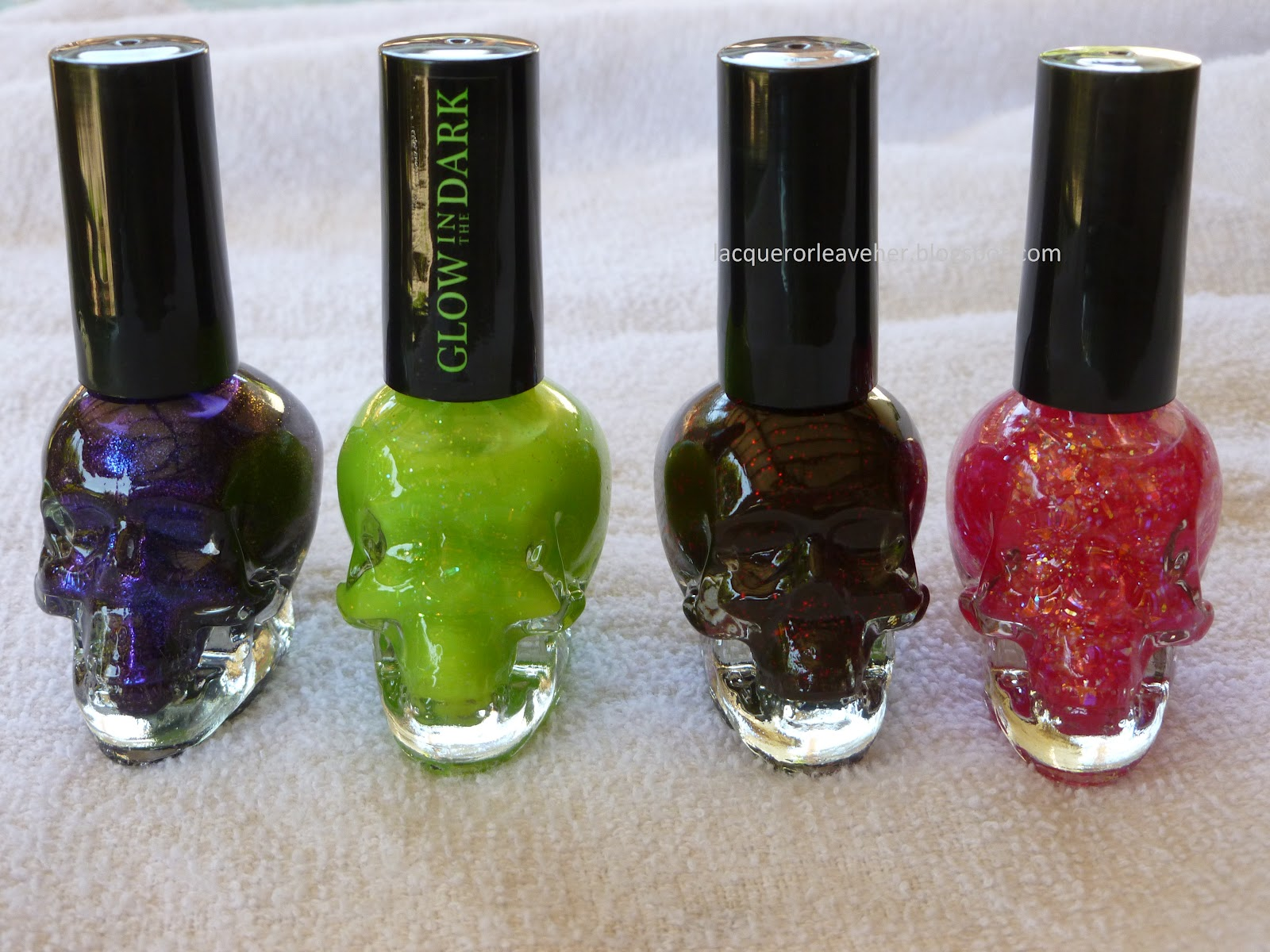 Lacquer or Leave Her!: Review: Hot Topic Blackheart Beauty Polishes ...