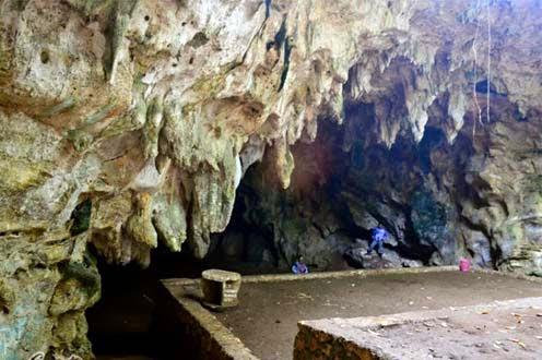 Foto legenda wisata gua rancang kencono gunung kidul jogja