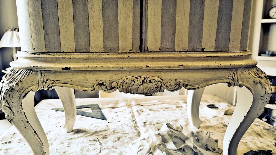 Passione shabby il restauro dei comodini chippendale - Ristrutturare mobili vecchi ...