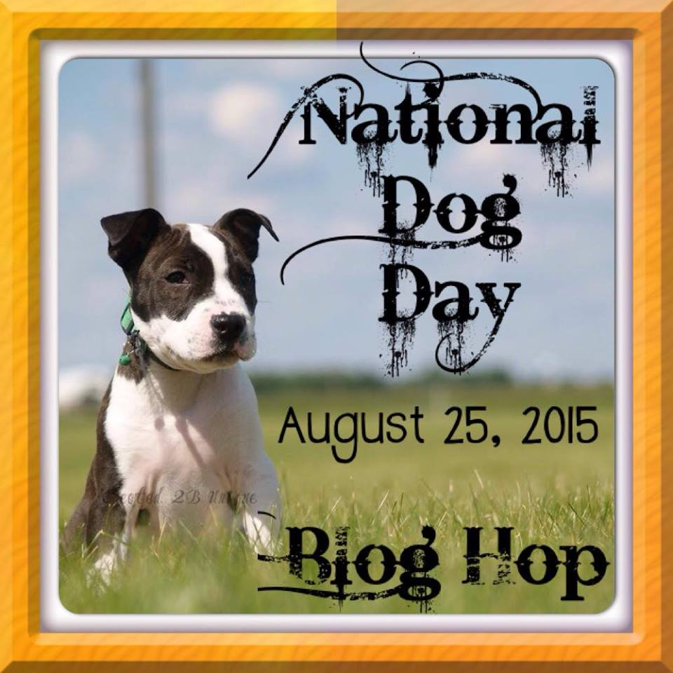 National Dog Day - Blog Hop Aug 25th
