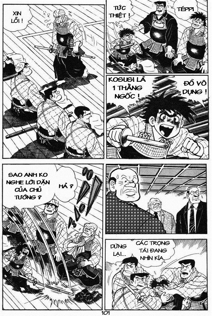 Siêu quậy Teppi chap 43 - Trang 21