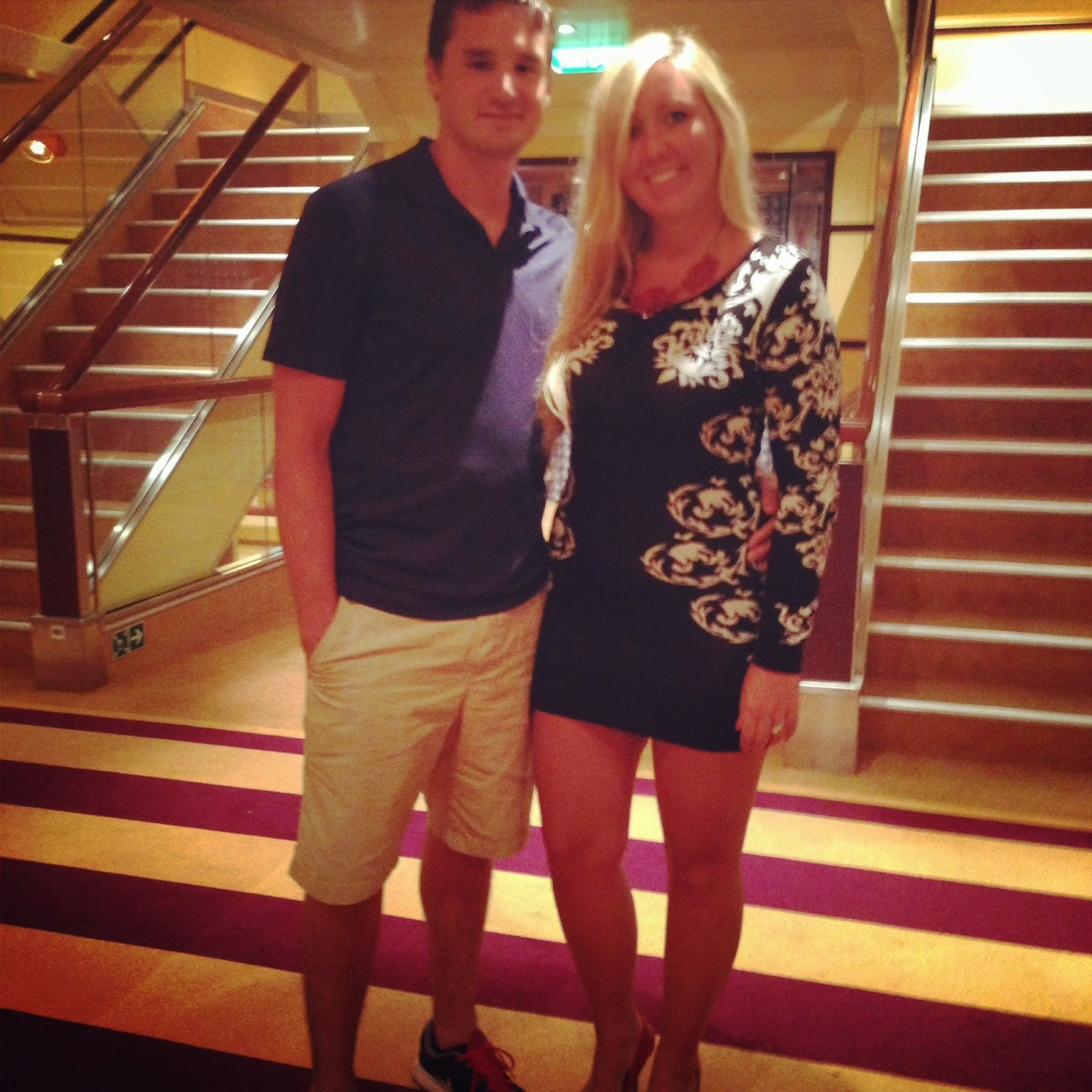 Life In The Barbie Dream House September - What to wear on a cruise ship dinner
