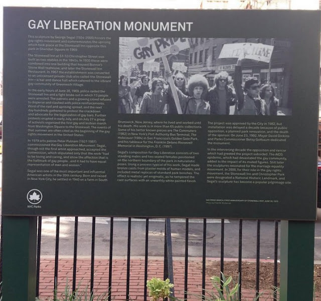 Christopher Park - Gay Liberation
