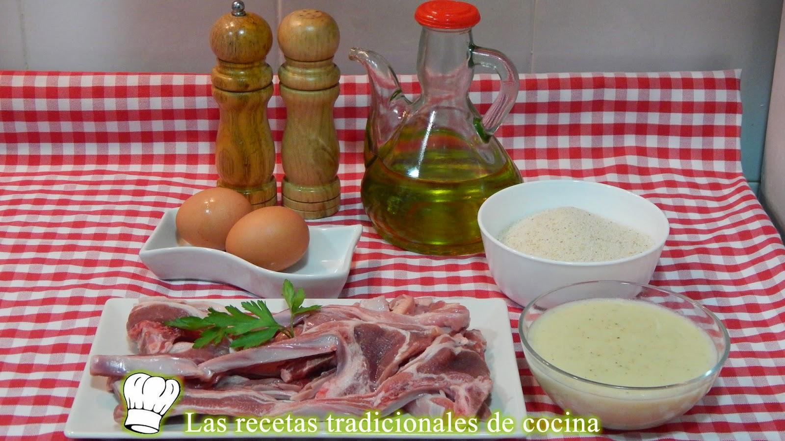 Como Cocinar Chuletas De Cordero | Receta De Chuletas De Cordero Empanadas Con Bechamel Recetas De