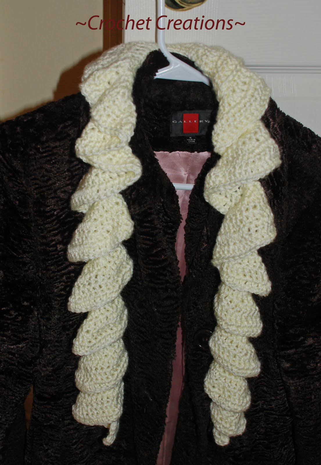 Crochet Patterns Ruffle Scarf : FREE CROCHET PATTERNS OF SCARFS Crochet Tutorials