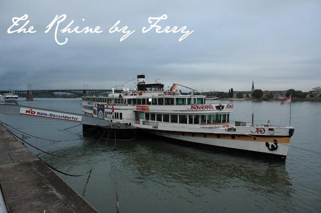 Traveling the Rhine River, Germany by Ferry Boat - The Tipsy Terrier Pub Blog