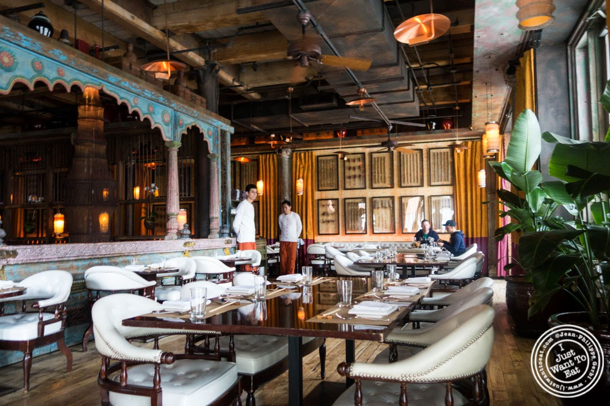 image of dining room at Spice Market in the Meatpacking District, NYC, New York