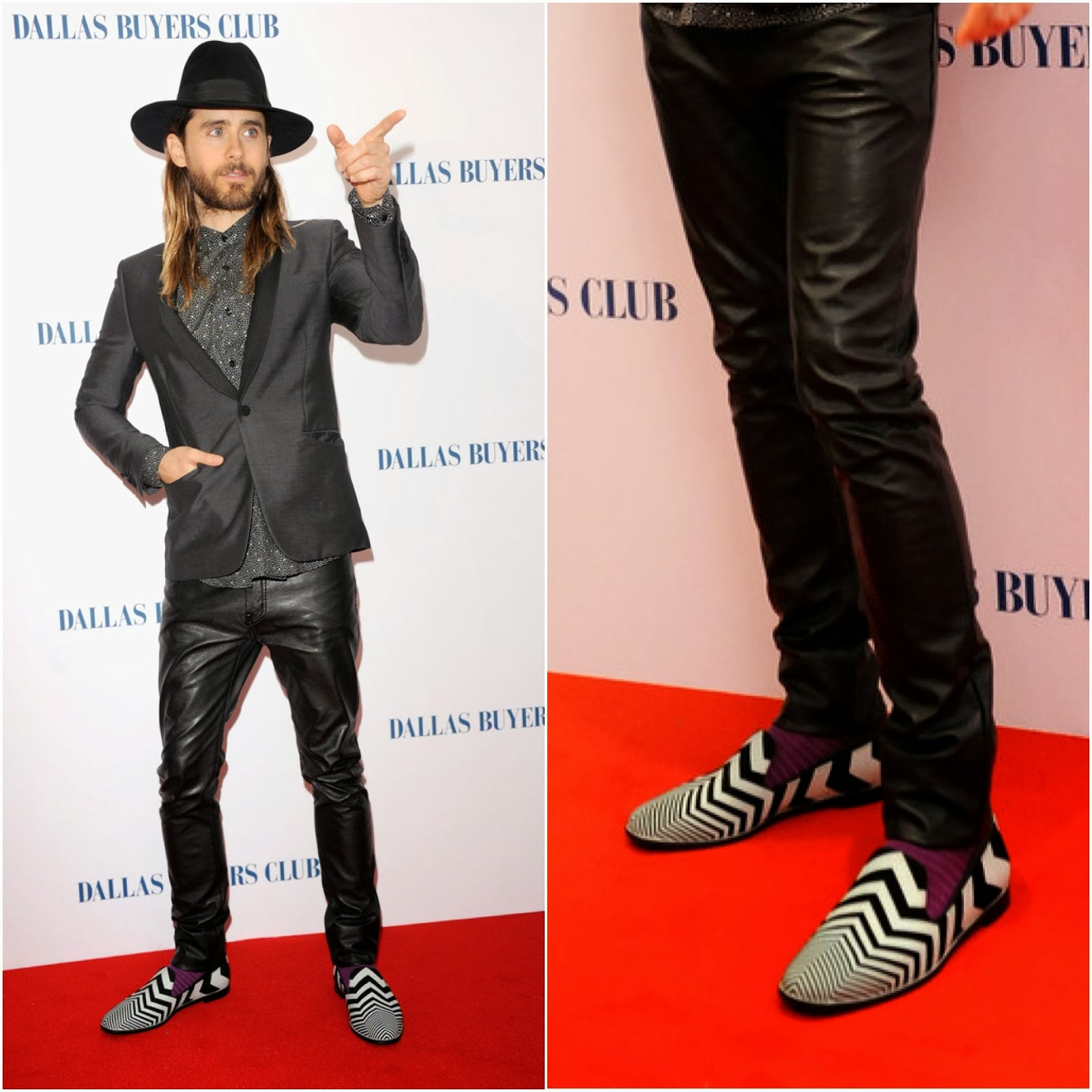 Jared Leto's Nicholas Kirkwood Shoes - 'Dallas Buyers Club' UK Premiere
