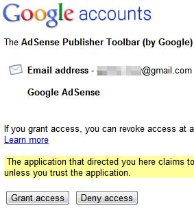 Adsense Publisher Toobar لناشري اعلانات أدسنس