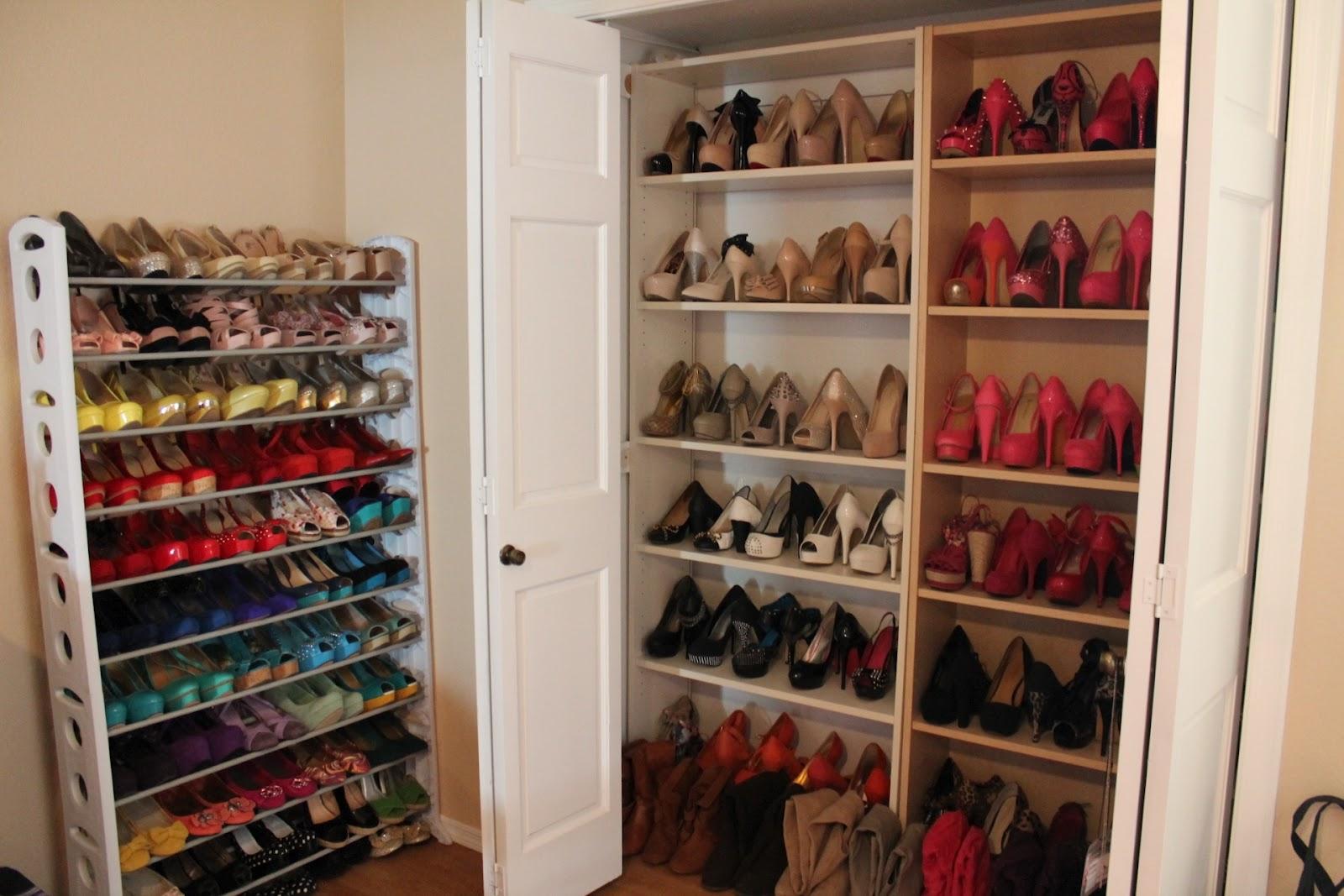Closet Shoe Racks