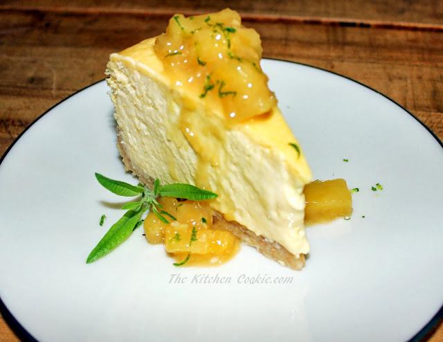 TheKitchenCookie: Mango Cheesecake with Coconut Macadamia ...