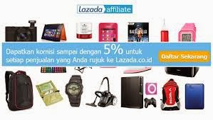 Ikut Lazada Affiliate Program Raih 5% Per Sele
