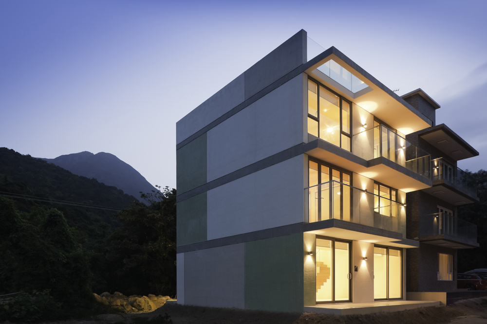 HEAD Architecture Designed House 3098 A Three Story Home In The Shep Mun Kap Village Of Hong Kongs Lantau Island